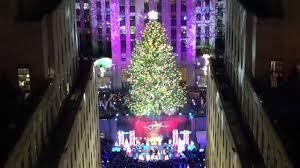 rockefeller center christmas tree lighting 2014 youtube