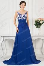 online get cheap royal blue gowns aliexpress com alibaba group
