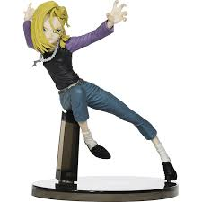 z android 18 android 18 z scultures big colosseum