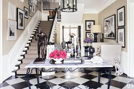 black and white floors that a statement photos