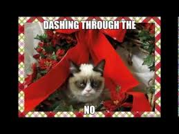 Grumpy Cat Memes Christmas - grumpy cat christmas memes with xmas music youtube