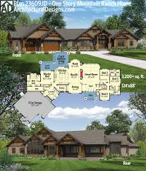 ranch house plans with daylight basement baby nursery front and back porch house plans covered back porch