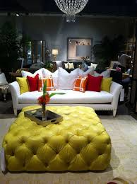 round dressing room ottoman incredible 8 inspirations of yellow ottoman coffee table intended