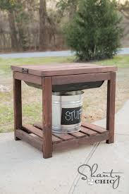 Backyard Sandbox Ideas Diy Sandbox Table Shanty 2 Chic