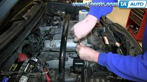 how to install replace engine spark plugs suzuki 2 7l v6 xl 7