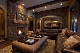 Rustic Living Room Furniture Home Design Ideas - Spanish living room design