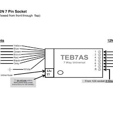 bypass relay for 7 pin electrics u2013 towtal u2013 motorhome towbar u0026 a