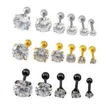 surgical steel stud earrings popular stud earrings helix buy cheap stud earrings helix lots