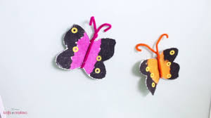 how to make easy colorful butterflies for kids diy sand art