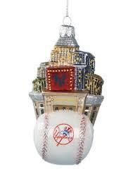 nycwebstore com official ny yankees christmas ornament baseball