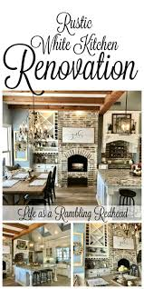 best 25 rustic white kitchens ideas on pinterest cottage