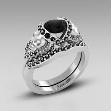 vancaro wedding rings skull rings archives rise of the black diamond