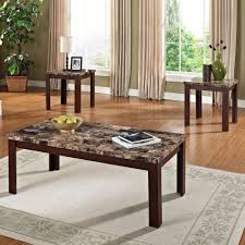 coffee table glass coffee and end table set safeti me tables for