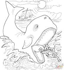 jonah and the whale coloring page free printable coloring pages