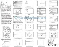 spanish speaking countries flags coloring pages bltidm