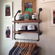 Industrial Closet Organizer - best 25 industrial clothes hangers ideas on pinterest rustic