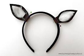 deer ears headband diy reindeer headband diy