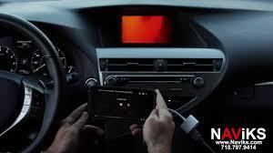 lexus apple integration 2015 lexus rx350 f sport naviks hdmi video interface smartphone