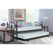 Sofa With Trundle Bed Daybed And Trundle Off White Metal Twin Bed Frame Spare Guest Sofa
