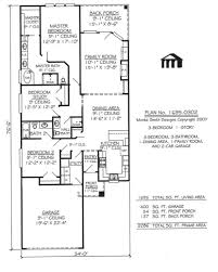 narrow lot house plans with rear garage rear garage house plans 2759fp1 traintoball