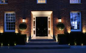 front entrance lighting ideas create the right impression with good front door lighting by john