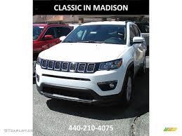 jeep compass 2017 white 2017 bright white jeep compass latitude 4x4 121085805 gtcarlot