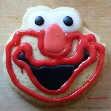 how to make elmo cookies u2013 look at what i made