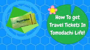 travel tickets images How to get travel tickets in tomodachi life jpg