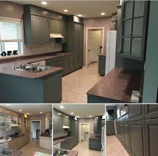 how to paint maple cabinets gray gray whale maple cabinets painting guys