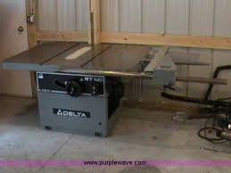 heavy duty table saw for sale delta rt40 heavy duty table saw item 1601 sold septembe