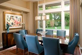 Light Blue Dining Room Chairs Light Blue Dining Chairs Dining Room Contemporary With Gray Sofa