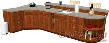 kitchen island designer creating a kitchen island