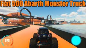 crew wild run u0027s play fiat 500 abarth monster truck