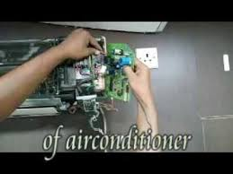 how to change the p c b of air conditioner youtube