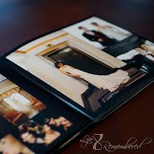 custom wedding album wedding album remembered