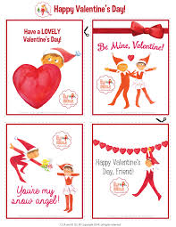 s day cards for classmates the elves made these perfectly printable s day cards