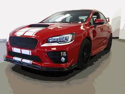 subaru red 2015 sti esx for sale