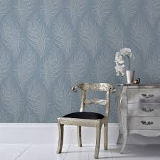 graham u0026 brown blue quill removable wallpaper 33 321 the home depot