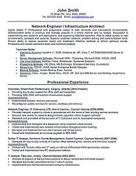 Entry Level Engineer Resume Entry Level Network Engineer Resume Sample Free Resume Example