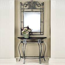 Entryway Tables And Consoles Entryway Foyer Console Table Entryway Table Mirror Lamp Set Full