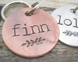 engravable dog tags pet id tag etsy