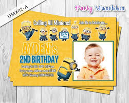 diy minion invitations minions photo invitation despicable me invite despicable me
