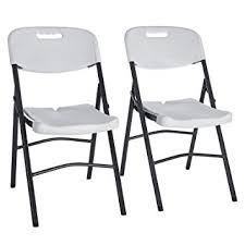 chaises pliables songmics lot de 2 chaises pliantes chaise de jardin pliable stable