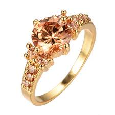 big gold rings images Bamos jewelry 10kt gold plated women ring diamond cut jpg