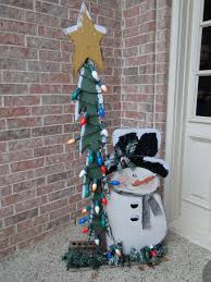porch frosty snowman crafts christmas pinterest porch