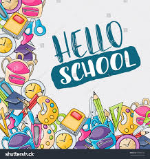 hello doodle clip art greeting stock vector 678565723