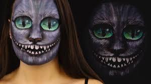 halloween makeup artists cheshire cat makeup tutorial ilana k artist youtube