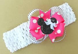 minnie mouse hair bow pink minnie mouse hair bow headband twistin twirlin tutus