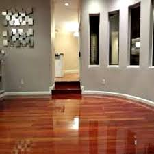 introducing a lower cost of refinishing hardwood floors by a