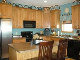 blue kitchen walls with brown cabinets turquoise kitchen turquoise kitchen blue kitchen walls